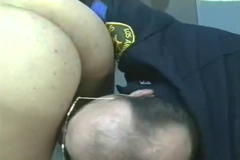 studs In Uniform get Filled And plowed from behind.