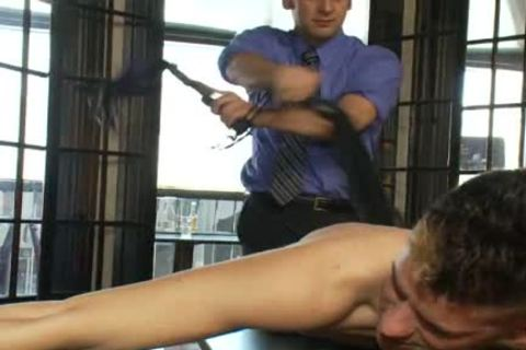 attractive gay lad gets tied Up And wazoo pounded In Public