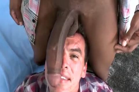 Latino First Time With A Monster black penis