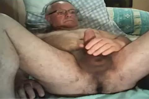 old man love juice On webcam