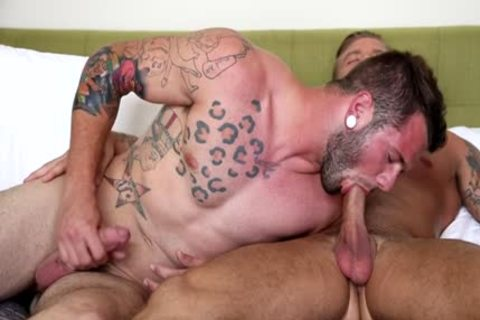 Muscle homosexual ass sex And cumshot