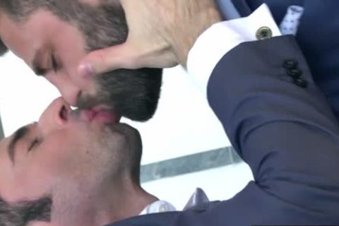 curly homosexual Fetish With goo flow