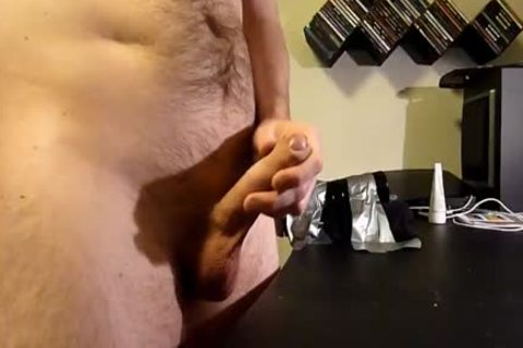 lad using fleshlight and wanking. Great sex cream flow at the end.