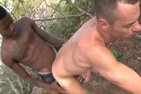 Interracial unprotected large darksome knob