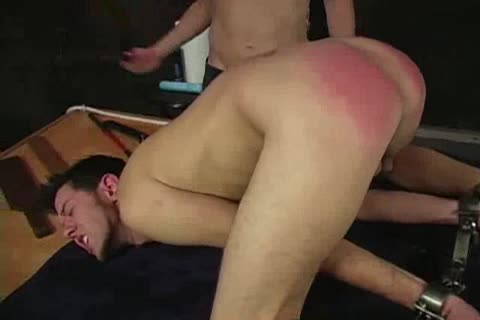 Spanked And dildo