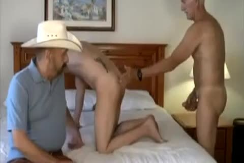 older Cowboy And ally slam young lad