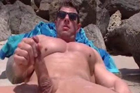 Zeb Atlas jerking off (2014)