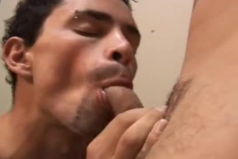 Brazilian College fellows throbbing knob
