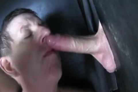 Super monstrous Uncut penis straight Aussie Max get's Sucked Off At The Gloryhole.