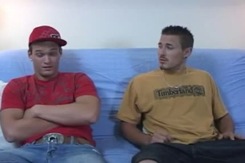 Straight Male Pair Cumming clips gay Taking A Seat On The