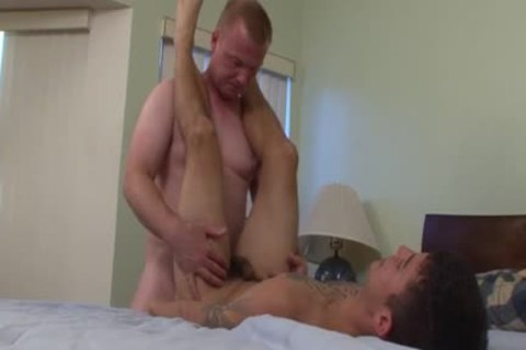 Mighty homosexual cum drenched