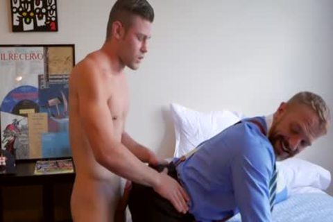 Latin Daddy butt job With ejaculation