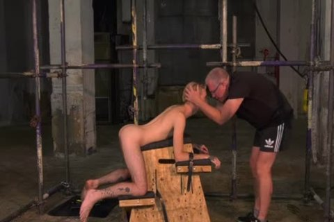 adorable Sub twink tied Up For Very unfathomable pooper Play